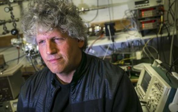 Scientist Sveinn Ólafsson. Photo: Árni Sæberg